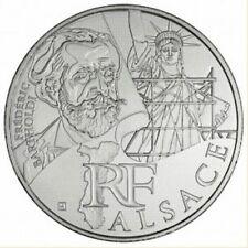 Pièce de 10 euros en argent de la région Alsace - Euro des régions 2012