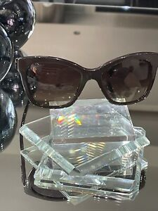 Authentic & Beautiful CHANEL Women's Brown Sunglasses