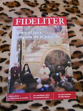 Revue - FIDELITER n° 205, 2012