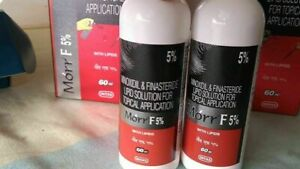 2 x Morr-F 5% For - Hair Regrowth DHT Blocker Herbal - 60ml (Free Shipping)