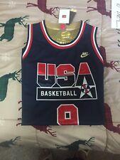 Nike Michael Jordan #9 USA Olympic Dream Team 1992 Jersey  Gold Stitched XL