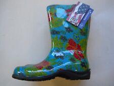 Sloggers 5002BL06 Women's Rain And Garden Boots, Midsummer Blue, Size 6