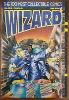 Wizard Magazine 1st Edition 1993 - 100 Most Collectible Comics  NM