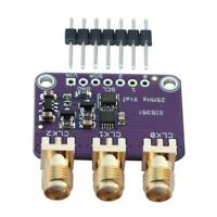 Si5351A I2C 25MHZ Clock Generator Breakout Board 8KHz to 160MHz for Arduino F1U2