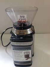 Coffee Mill Automatic Burr Grinder Coarse-Ultra Fine 4-18 Cups Kitchen Cuisinart