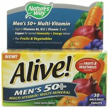 Nature's Way Alive! Mens 50+ OAD - 30 Tablets