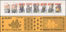France 1995 Red Cross/Health/Welfare/Crib Figurines/Donkey/Sheep 6v bklt n10019g