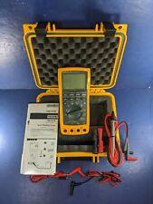 New Fluke 789 Processmeter, Hard Case, Accessories
