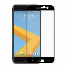 For HTC 10 Screen Protector FULL 3D Edge to Edge Coverage Glass Black K9Y6