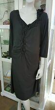 Sandwich dress.SzXL.Soft rayon stretch jersey.Comes with slip.VGC