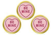 Love Heart Be Mine Marqueurs de Balles de Golf