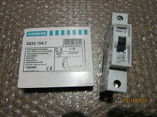 SIEMENS 5SX2 104-7 C4 1P Miniature Circuit Breaker - unused -