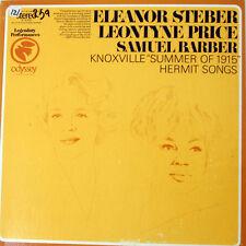 ELEANOR STEBER/LEONTYNE PRICE Knoxville Summer of 1915/Hermit Songs LP. 1968