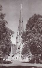CHRIST CHURCH CATHEDRAL, FREDERICTON, NEW BRUNSWICK, CANADA Postcard - 1950's!