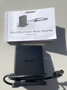 Bose Bluetooth Music Adapter for Wave Radio Music System III IV Manual Free Ship