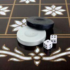 Star Tavla Orientalische Backgammon Tavli Familienspiel Reisespiel XXL48x50x6cm
