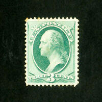 US Stamps # 184 VF Dist OG LH Scott Value $90.00