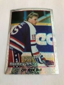 1995 Swedish Panini Sticker Brett Hull RARE