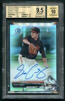 2017 Bowman Chrome Draft Seth Corry Refractor Autograph Auto Rookie RC #449/499