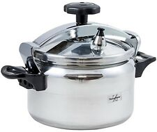 Bergner Swiss Home Zurich 5 Litre Pressure Cooker Induction Stainless Steel