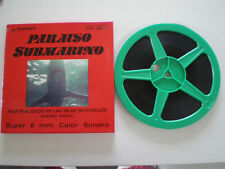 PARAISO SUBMARINO Juanjo Serrano SUPER 8MM ARMENDARIZ DOCUMENTAL SEYCHELLES