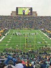 4 - Notre Dame Fighting Irish vs Michigan Football Tickets *AISLE SEATS* 9/1/18