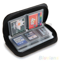 EB_ Vogue SDHC MMC CF Micro SD Memory Card Storage Carrying Pouch Case Holder Wa