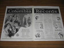 1920 Vintage Ad Columbia Records Graphophone Co New York