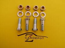 Datsun 280ZX Turbo 300ZX 81-89 Driveshaft Propeller Shaft Bolt Set 4   029