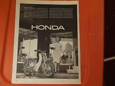 1963 Honda Mopad Vintage Ad Smart Shopper