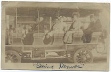 RPPC 1908 SEEING DENVER CO * REAL PHOTO * OLD USED POSTCARD PC4754