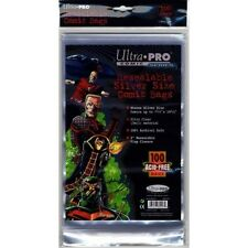 50 Ultra Pro Silver  Resealable Storage Bags And Boards New Factory Sealed