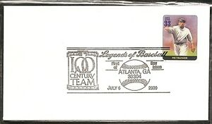 US SC # 3408o Legends of Baseball - Pie Traynor - FDC. Ready For Cachet.