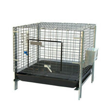 Stackable Rabbit Cage With Feeder Water Bottle Guinea Pig Ferret Bunny Cage