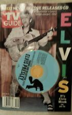 """Tv Guide """"It's Elvis Week"""" May 8-14 2005 No. 1 of 4 Collectors Covers"""