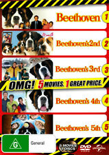 Beethoven's Dog Gone (Beethoven / 2nd / 3rd / 4th / 5th) (5 Movies) (3 DVD)
