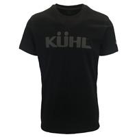 Kuhl Men's Black Kuhl Logo Born In The Wild S/S T-Shirt