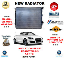 FOR AUDI TT COUPE CABRIO 8J9 1.8 TFSi 2008->2014 NEW RADIATOR UNIT