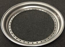 """17x 3""""Outer Step Lip Straight Flange RAW fits all 3pc Wheel Hre,vellano,BBS"""