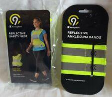 C9 Champion Reflective Safety Vest + Reflective Ankle/Arm Bands - New