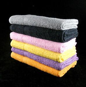 Cheap Bath Towels XL 75 x 150 cm 100% Cotton Budget Quality 350gsm Pack of 3