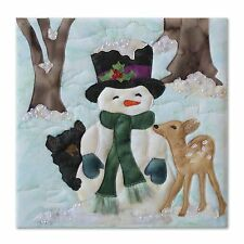 McKenna Ryan First Frost Snow Buds Laser Cut Quilt Kit w/ Embellishments 9