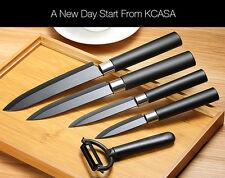 KCASA  Black |Ceramic Knife Sets| Kitchen Cutlery Rust Proof Chef Knife NEW Mod