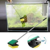 Fish Tank Algae Cleaner Sponge Scrubber Remover Aquarium Cleaning Brush 2019