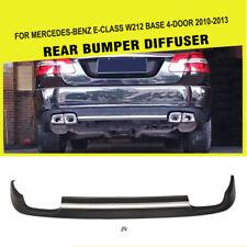 Silver Strip Rear Bumper Lip Diffuser Fit For Mercedes Benz W212 Non-AMG 10-13