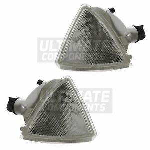 Citroen AX Hatchback 1991-1996 Front Indicators Lights Lamps Clear 1 Pair