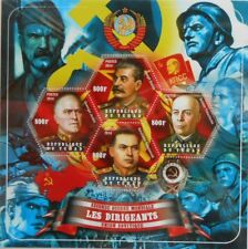 Leaders of Russia in World War II mini sheet #1 MNH #tch2014-27