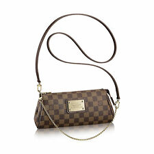 Louis Vuitton EVA Damier Borsa Marrone Pochette LV EVA Damier SHOULDER BAG id4495