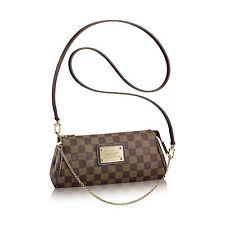 Louis Vuitton Eva damier Sac Marron Pochette LV Eva damier Shoulder Bag id4495