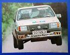 altes Poster 21x29cm Irmscher Opel Corsa A Rallye 1987, Team Matter, ATS, Mobil1